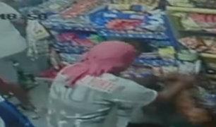 La Molina: cámaras de seguridad registran instantes en que vándalos saquean y roban en una bodega