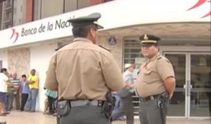 Asbanc y Minister se pronuncian ante continuos robos a bancos