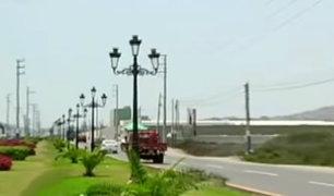 Chorrillos: roban postes ornamentales y ninguna autoridad responde