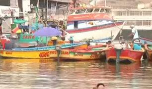 Naplo - Pucusana: muelle ha rebasado hasta en tres veces la cantidad de embarcaciones