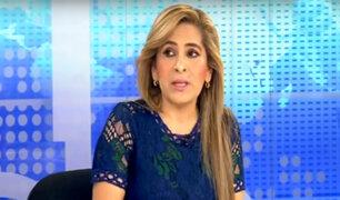 "Maritza García sobre proceso disciplinario: ""Si afectan a uno, nos vamos todos"""