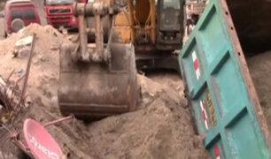 Chosica: niño muere aplastado por tolva de camión volquete