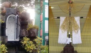 San Luis: denuncian robo de réplica de Santísima Cruz de Motupe