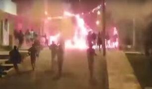 San Juan de Miraflores: se registró batalla campal entre pandillas