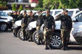 Presidente  Pedro Pablo Kuczynski  entregó 234 camionetas 4x4 a la Policía