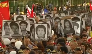 Se realizó quinta marcha contra el indulto a Alberto Fujimori