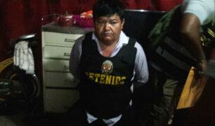 Detienen a alcalde de Santa Rosa por integrar organización criminal