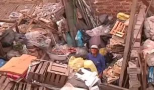 VES: hombre que recicla basura podría perder vivienda