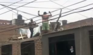 SMP: investigan a ladrón 'Malulo' que cayó por tragaluz al intentar huir de policía