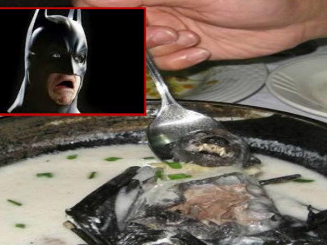 ¿Te atreverías a tomar sopa de murciélago?