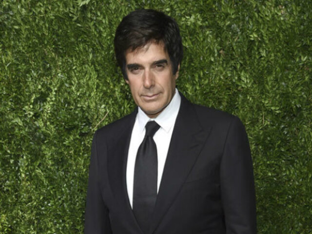 Acusan a David Copperfield de agredir sexualmente a una modelo