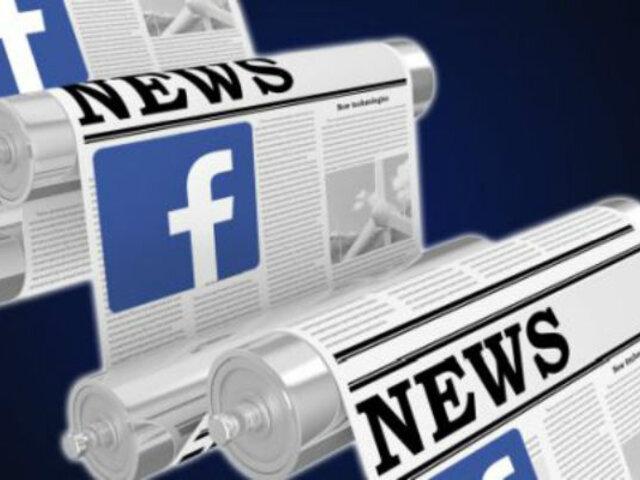 Facebook: Usuarios podrán valorar y priorizar medios de comunicación confiables