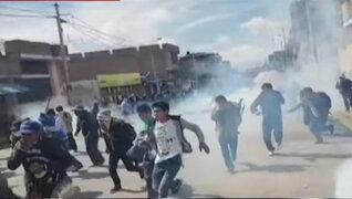 Paro agrario: agricultores intentaron tomar comisaría en Huánuco
