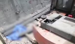 Pueblo Libre: municipio clausura temporalmente construcción tras la muerte de obrero