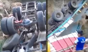 Lambayeque: cinco muertos deja despiste de camión en Olmos