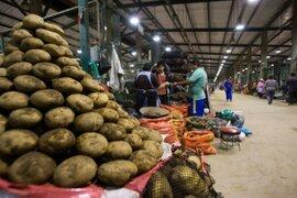 Se mantiene precios de productos en Mercado Mayorista de Santa Anita