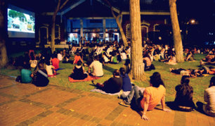 Cine bajo las estrellas: ¡Mira gratis películas por todo febrero en parques de Miraflores!