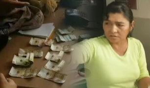 Huacho:  serenos intervienen a mujer con billetes falsos y son denunciados por robo