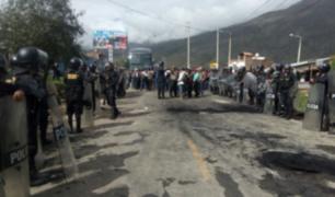 La Oroya: reabren tránsito en la Carretera Central
