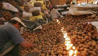 Mercado Mayorista asegura que abastecimiento de papa es normal tras paro de agricultores