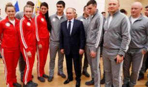 Putín: fallo del TAS demuestra que la mayoría de los deportistas rusos están limpios