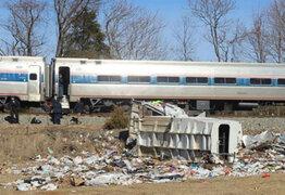 EEUU: choque de trenes deja dos muertos y 70 heridos