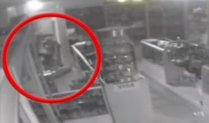 Huacho: cámaras de seguridad registran robo a joyería