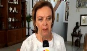 Luisa María Cuculiza a favor de la pena de muerte para violadores