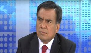 Javier Velásquez Quesquén se opone a motivaciones de vacancia a PPK