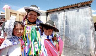 Arequipa: Midis intensifica acciones para prevenir efectos de las heladas en zonas rurales