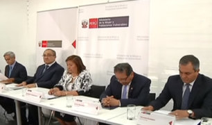 Gobierno anuncia acciones para reforzar seguridad de niños y adolescentes