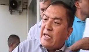 Así reaccionó el alcalde de Chorrillos ante protesta de vecinos por muerte de menor