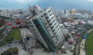 Taiwán: sismo de 5,7 grados azota nuevamente la región Hualein