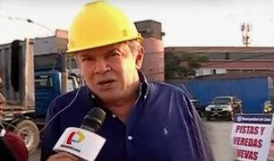 Alcalde Castañeda no descarta que su hijo postule a la alcaldía de Lima