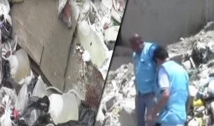 Hallan desechos hospitalarios en la ribera del río Piura