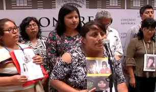 Padres de desaparecidos piden continuar con labores de búsqueda