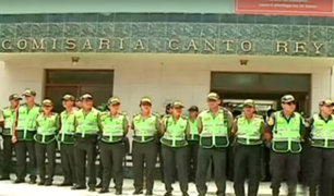 Responsables de comisaría de Canto Rey fueron separados de sus cargos