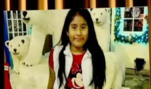 Madre de Jimenita reconoció prendas de su hija en la Dirincri