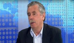 """Fernando Rospigliosi: """"No hay política anticorrupción en el Gobierno"""""""