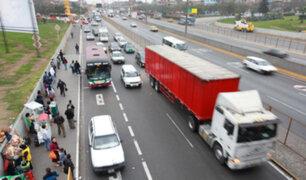 Panamericana Sur: restringen circulación de vehículos de carga pesada