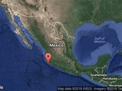 Sismo de 5,9 grados sacudió el estado mexicano de Jalisco