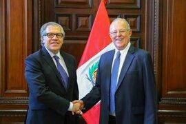 Secretario General de la OEA respalda indulto otorgado a Alberto Fujimori