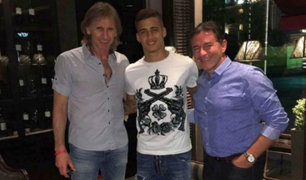 Ricardo Gareca se reunió con Beto da Silva en Argentina