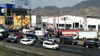 Panamericana Norte: choque múltiple deja al menos 6 heridos