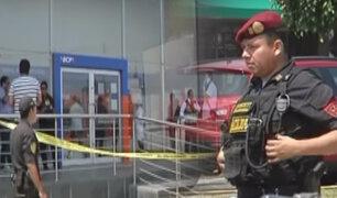 Callao: delincuentes asaltan agencia bancaria en la avenida Colonial