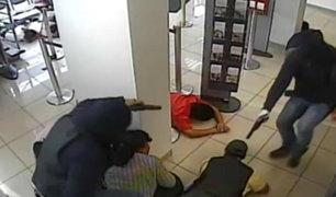 Ya son nueve bancos que han sido asaltados en mes y medio