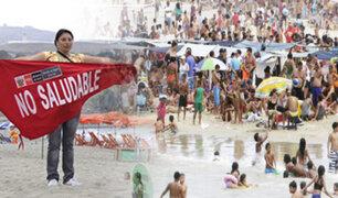 Según Digesa, 28 playas limeñas son no aptas para bañistas