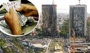 Informe revela que economía del país no llegaría al 3% de crecimiento
