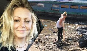 Ambientalista que limpia un río en Iquitos no será deportada