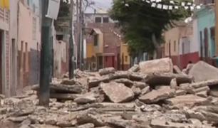 Barranco: vecinos protestan por desmonte en calles